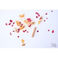Sangria blanca, un mélange d'agrumes et de canneberges - Chez Figue
